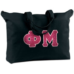 Phi Mu Shoulder Bag - Bag Edge BE009 - TWILL