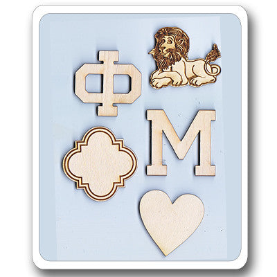 Sorority symbol mascot pack something greek for Lil flip jewelry collection