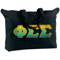 Phi Sigma Sigma Shoulder Bag - Bag Edge BE009 - TWILL