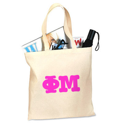 Phi Mu Printed Budget Tote - Letter - 825 - CAD