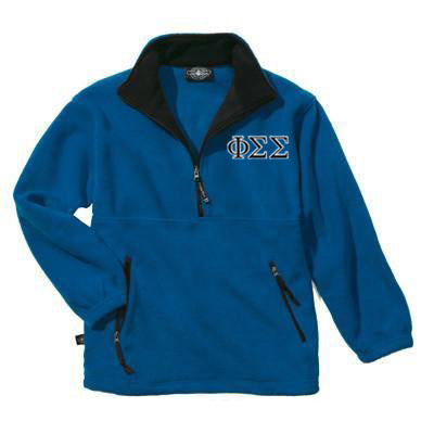 Sorority Fleece Pullover with Embroidery - Charles River 9501 - EMB