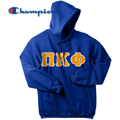Pi Kappa Phi Champion Hooded Sweatshirt - Champion S700 - TWILL