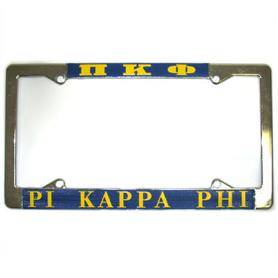 Pi Kappa Phi License Plate Frame - Rah Rah Co. rrc