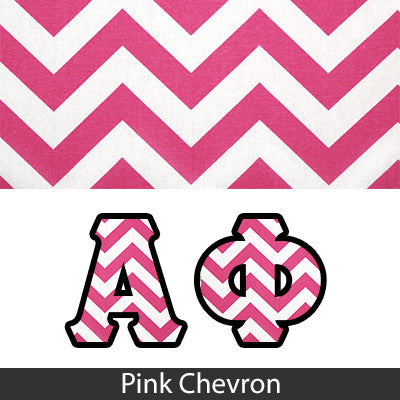 Monogram Panoramic Sorority Printed Design - SUB