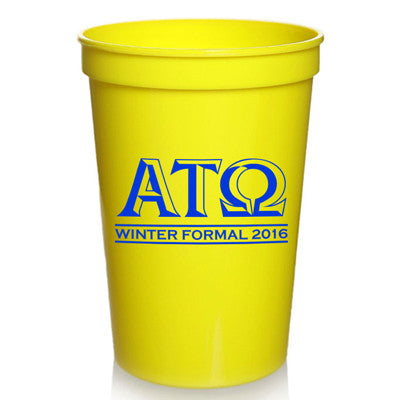Custom Formal Plastic Stadium Cups - SP
