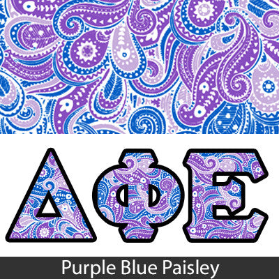 Sorority Panoramic Pattern Printed Tee - Gildan 8000 - SUB