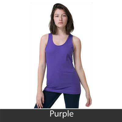 Alpha Sigma Tau Sorority Printed Tank Top - American Apparel 2408 - CAD