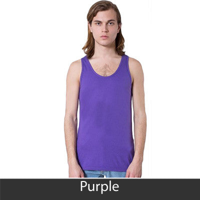Phi Kappa Sigma Fraternity Printed Tank - American Apparel 2408 - CAD
