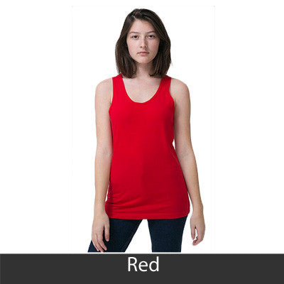Delta Delta Delta Sorority Printed Tank Top - American Apparel 2408 - CAD