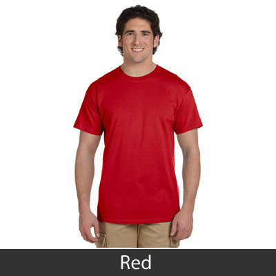 Fraternity Lettered T-Shirt - Gildan 5000 - TWILL
