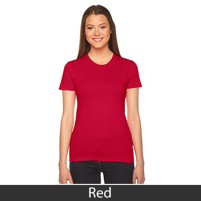 Gamma Phi Beta Embroidered Jersey Tee - American Apparel 2102 - EMB