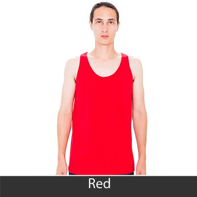 Theta Chi Fraternity Printed Tank - American Apparel 2408 - CAD