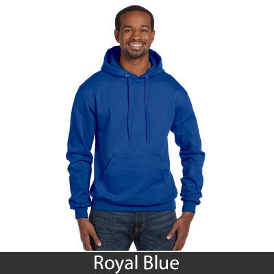 Delta Tau Delta Champion Hooded Sweatshirt - Champion S700 - TWILL