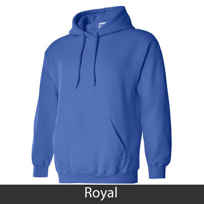 Sigma Sigma Sigma State and Date Printed Hoody - Gildan 18500 - CAD