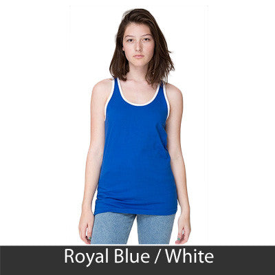 Zeta Phi Beta Sorority Printed Tank Top - American Apparel 2408 - CAD