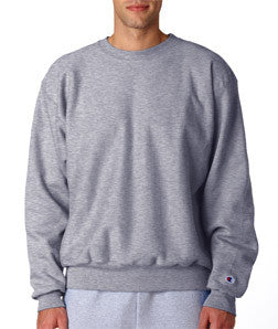Champion 12oz Fraternity Crewneck Sweatshirt - Champion S1049 - TWILL