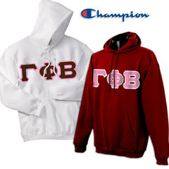 Gamma Phi Beta 2 Champion Hoodies Pack - Champion S700 - TWILL