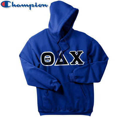 Theta Delta Chi Champion Hooded Sweatshirt - Champion S700 - TWILL