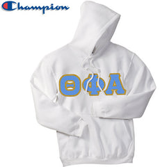Theta Phi Alpha Champion Hooded Sweatshirt - Champion S700 - TWILL