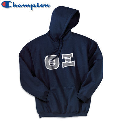 Theta Xi Champion Hooded Sweatshirt - Champion S700 - TWILL
