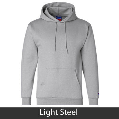 Alpha Sigma Tau Champion Hooded Sweatshirt - Champion S700 - TWILL