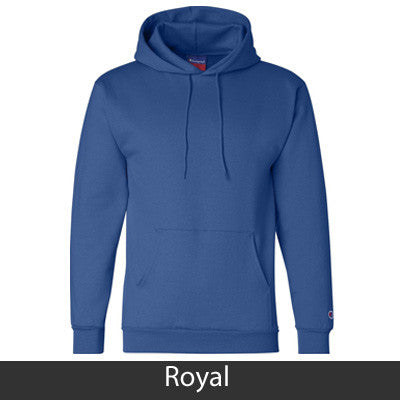 Delta Delta Delta Champion Hooded Sweatshirt - Champion S700 - TWILL