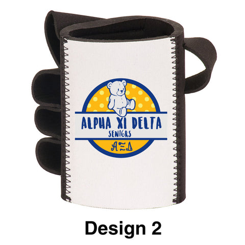 Custom Greek Formal Hand Shaped Foam Beverage Holder - SBL112 - SUB