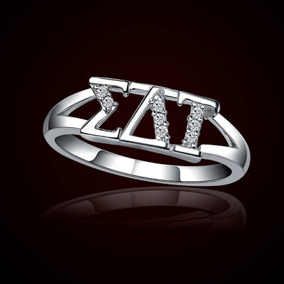 Sigma Delta Tau Sorority Ring - GSTC-R001