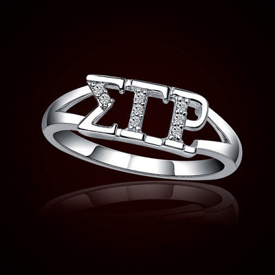 Sigma Gamma Rho Sorority Ring - GSTC-R001