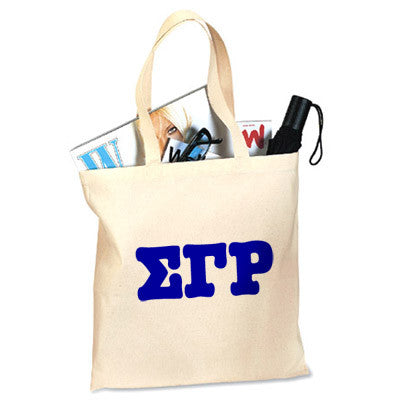 Sigma Gamma Rho Printed Budget Tote - Letter - 825 - CAD