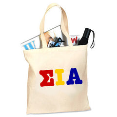 Sigma Iota Alpha Printed Budget Tote - Letter - CAD