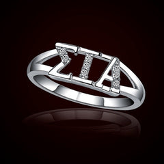 Sigma Iota Alpha Sorority Ring - GSTC-R001