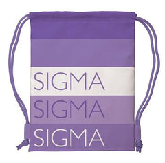Sigma Sigma Sigma Drawstring Backpack - a1009