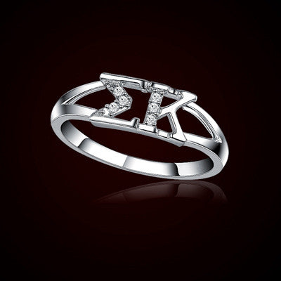 Sigma Kappa Sorority Ring - GSTC-R001