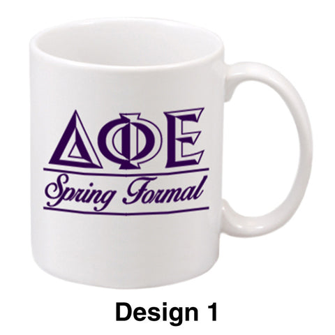 Custom Greek Formal Ceramic Mug - SM15W - SUB