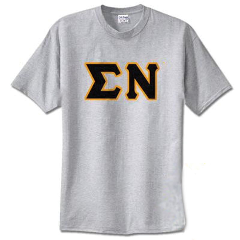 Sigma Nu Standards T-Shirt - $14.99 Gildan 5000 - TWILL