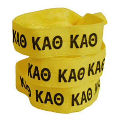 Kappa Alpha Theta Hair Ties - Scribbles & Such SNS