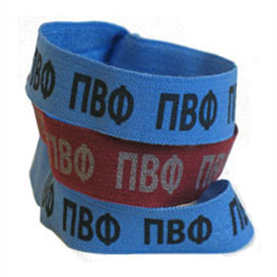 Pi Beta Phi Hair Ties - Scribbles & Such SNS