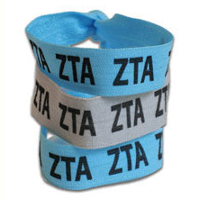 Zeta Tau Alpha Hair Ties - Scribbles & Such SNS
