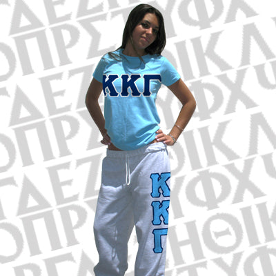 Sorority Ladies T-Shirt/Sweatpants Package - TWILL