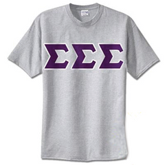 Sigma Sigma Sigma Standards T-Shirt - $14.99 Gildan 5000 - TWILL