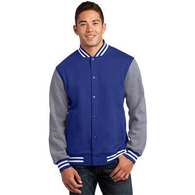 Fraternity Embroidered Varsity Letterman Jacket - Sport-Tek ST270 - EMB