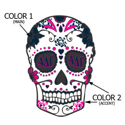 Sorority Sugar Skull - SUB
