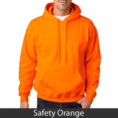 Psi Upsilon Hooded Sweatshirt - Gildan 18500 - TWILL