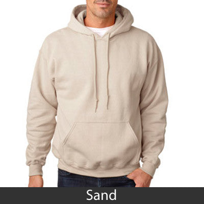 Alpha Sigma Phi Hooded Sweatshirt - Gildan 18500 - TWILL