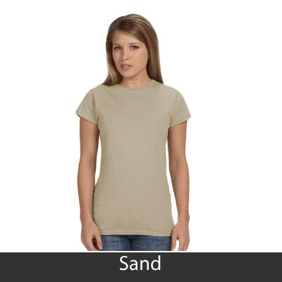 Zeta Tau Alpha Ladies' Softstyle Printed T-Shirt - Gildan 6400L - CAD