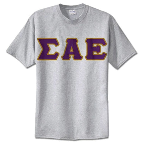 Sigma Alpha Epsilon Standards T-Shirt - $14.99 Gildan 5000 - TWILL