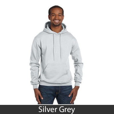 Alpha Sigma Phi Champion Hooded Sweatshirt - Champion S700 - TWILL