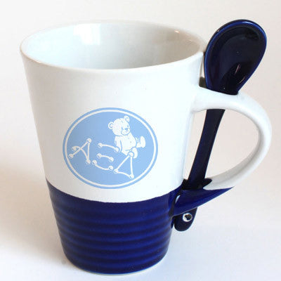 Alpha Xi Delta Sorority Coffee Mug with Spoon - 6150