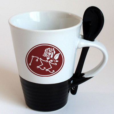 Gamma Sigma Sigma Sorority Coffee Mug with Spoon - 6150